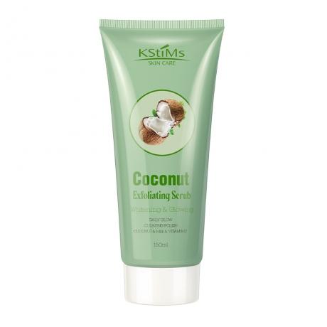 Coconut Exfoliating Scrub for Facial & Body Whitening Glowing